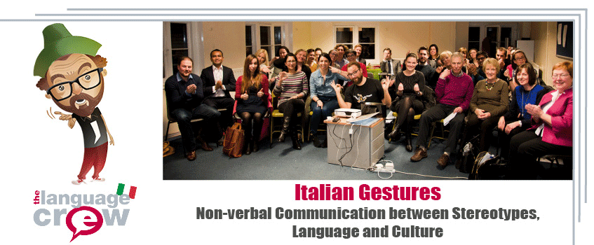 Italian Gestures – Non-Verbal Communication between Stereotypes, Language and Culture with Luca Vullo
